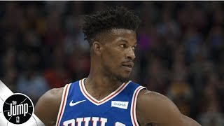 Jimmy Butler claps back at Instagram commenter who said he isn't worth max | The Jump