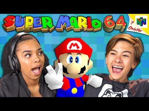 SUPER MARIO 64   Nintendo 64 (React: Retro Gaming)