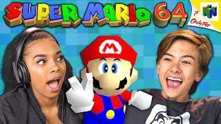 SUPER MARIO 64 | Ninтendo 64 (React: Retro Gaming)