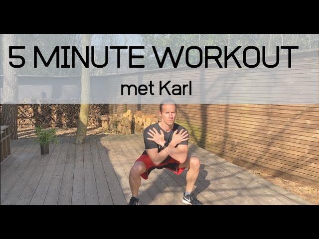 Demo Online Core workout Karl