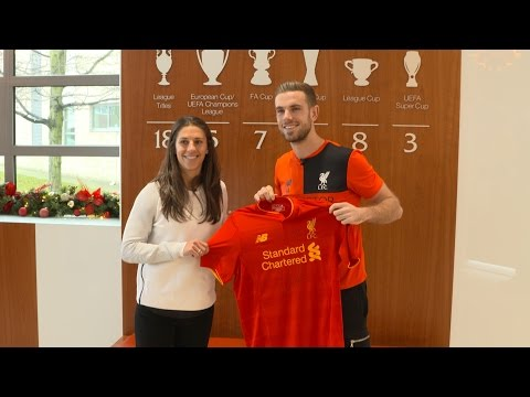 When Carli Lloyd met Jordan Henderson | 2016 FIFA Women's Player of the year