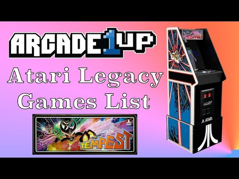 Arcade1Up Atari Legacy Cabinet | Games List from Original Console Gamer
