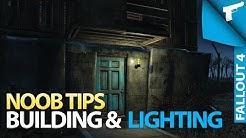 Fallout 4 | Building & Lighting Basics [Noob Tips]