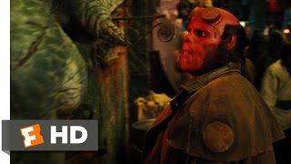 Hellboy 2: The Golden Army (4/10) Movie CLIP - Troll Market Battle (2008) HD