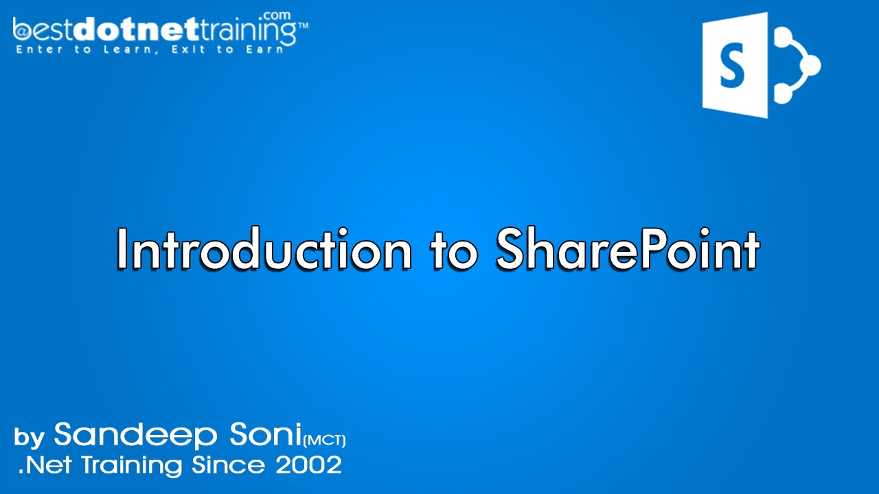 part 2 - sharepoint tutorial for beginners - introduction (2013