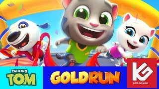 Talking Tom Gold Run Game Play Video By Kids Gaming Channel