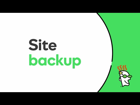 Website Backup Service | GoDaddy