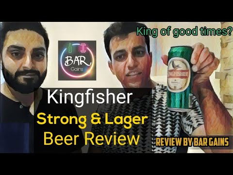 Kingfisher Beer Review India | Kingfisher Strong &  Lager Beer #kingfisher #red #green
