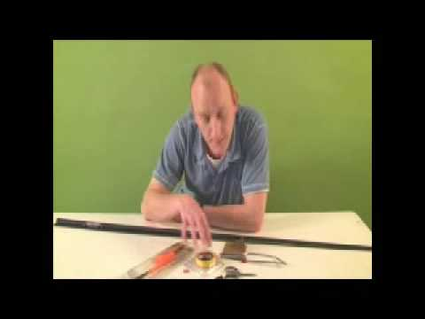 How to elasticate and set up a fishing youtube for How to set up a fishing rod