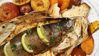 Форель в Лаваше - Армянская Кухня - Рыба в Духовке - Рецепт от Эгине - Heghineh Cooking Show