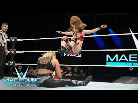 Io Shirai vs. Rhea Ripley - Semifinal Match: Mae Young Classic, Oct. 24, 2018