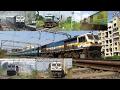 10 In 1 : Ultimate EMD Actions   Indian Railways !!