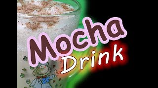 How to Make a Mocha Drink at Home - No-Machine Espresso Drink by Recipes Mix
