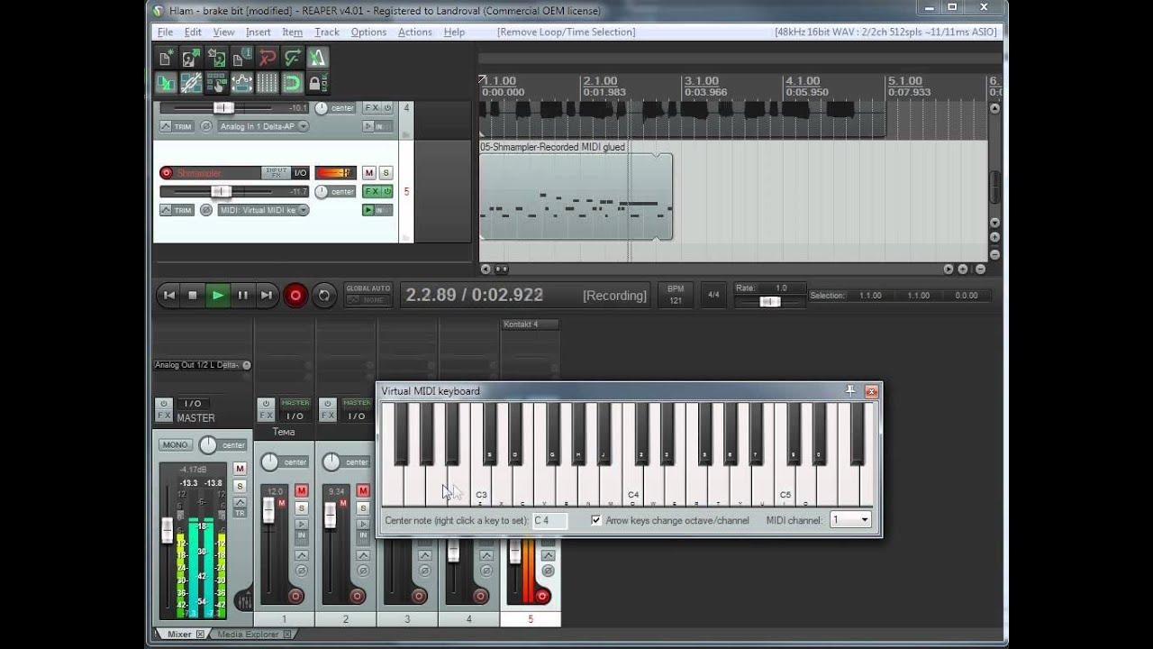 Учимся делать Drum and bass loops - CJCity Как сделать драм партию в рипере