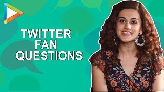 "Taapsee Pannu : ""I don't know if SALMAN KHAN knows of my existence"" 