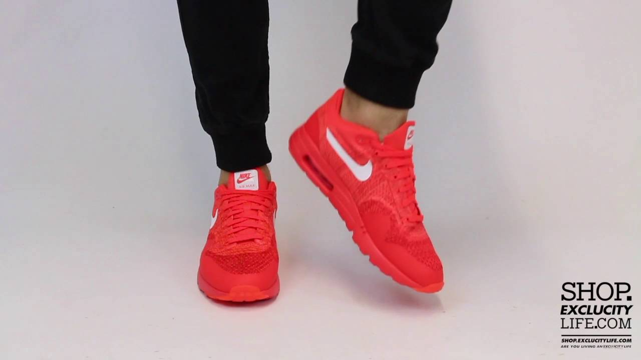 air max 1 ultra flyknit crimson