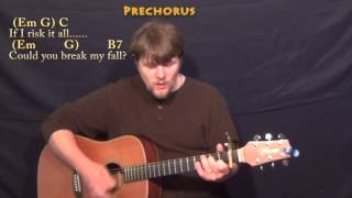 Writing's On The Wall (Sam Smith) Strum Guitar Cover Lesson with Chords/Lyrics