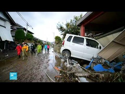 ارتفاع عدد قتلى إعصار اليابان إلى 66 وسط تضاؤل آمال العثور على ناجين  - نشر قبل 49 دقيقة