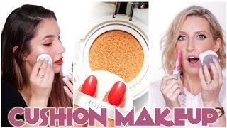 Korean CUSHION Makeup Reviews   Karima McKimmie