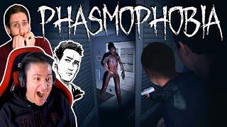 Παίζω πρώτη φορά Phasmophobia! Στη ντουλάπα τρεις τρεις!