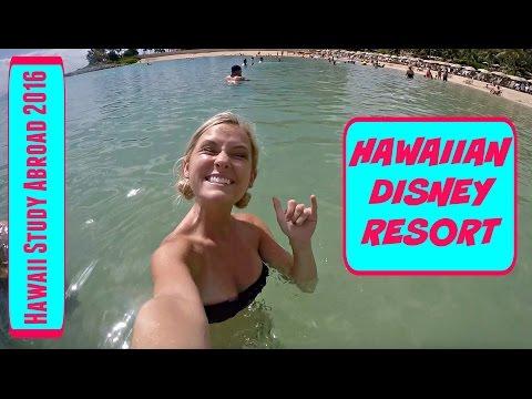 HAWAIIAN DISNEY RESORT - Hawaii Study Abroad VLOG (May 24, 2016)
