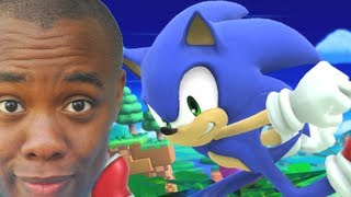 SONIC in SMASH BROS Wii U / 3DS (Pac-Man??) : Black Nerd