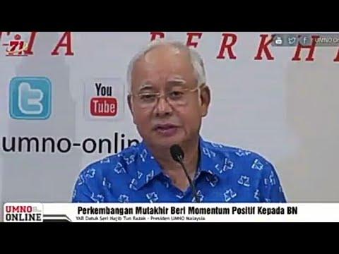 Momentum Positif Kata Najib, Apakah Isyarat PRU14 Sudah Dekat?