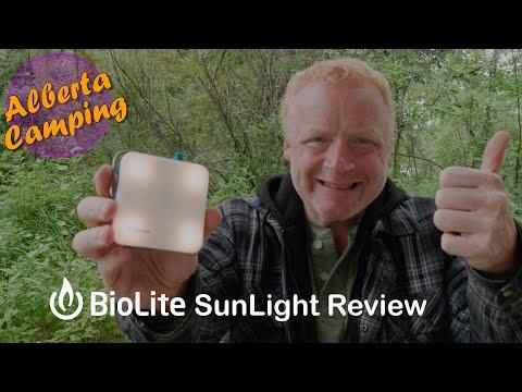 BioLite SunLight Review | Alberta Camping Gadgets