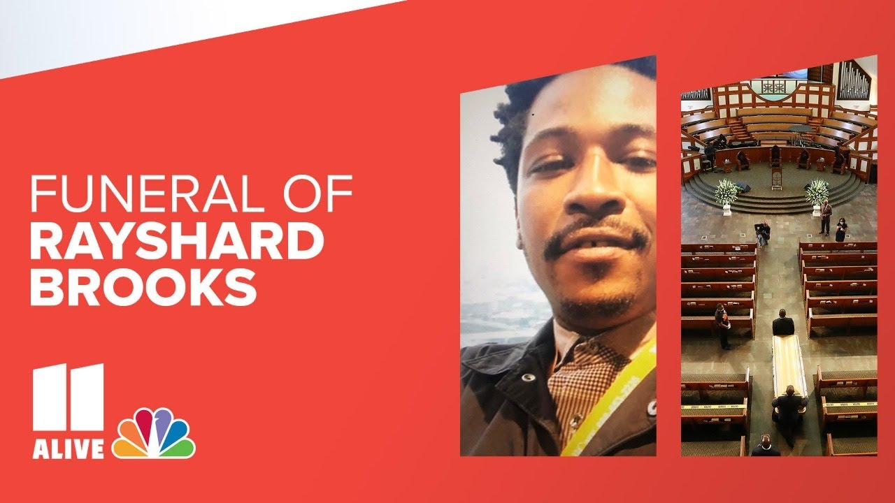 Download Rayshard Brooks funeral today in Atlanta