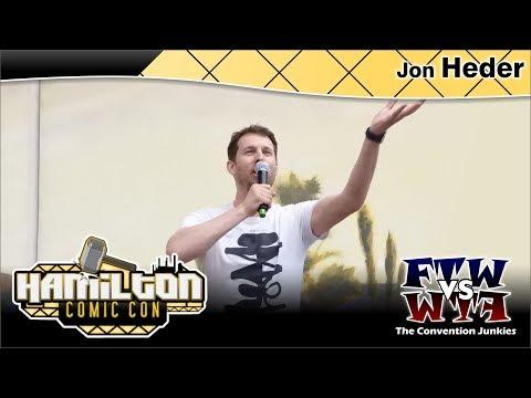 Jon Heder (Napoleon Dynamite, The Tiger Hunter) Hamilton Comic Con 2017 Full Panel
