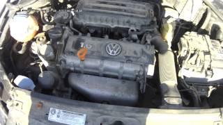 видео Стук двигателя Поло Седан. Холодный пуск.