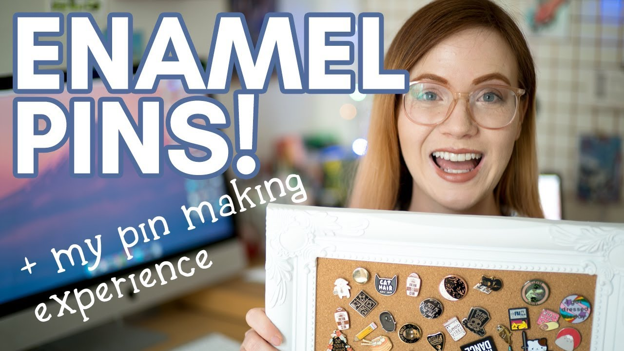 How to design enamel pins: MY PIN MAKING EXPERIENCE!