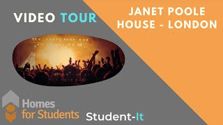 Janet Poole House - Homes For Students - Student Accommodation Tour - London