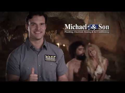 Michael and Son Commercial - Who Invented Fire?