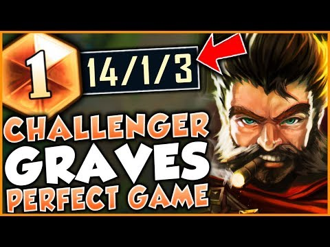 HOW TO PLAY GRAVES PERFECTLY IN SEASON 9! CHALLENGER GRAVES GAMEPLAY - League of Legends