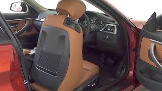 BMW 4 Series - Front Seats Position Adjustment with One Touch Function