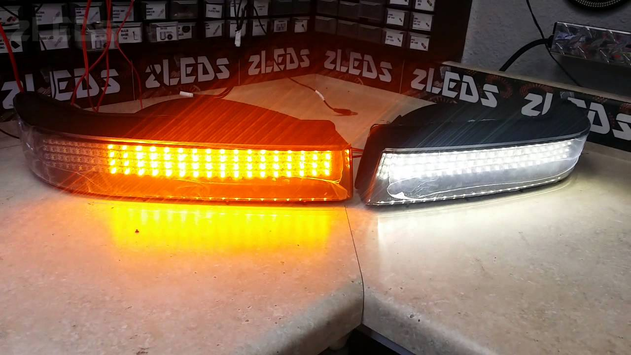 Ford Bronco Custom Headlight LED DRL / Sequential Signal by zLEDs