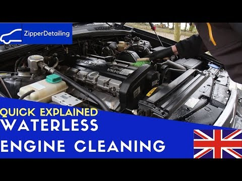 Is it possible to clean your engine without water? | Volvo 960 | -Zipper-Detailing