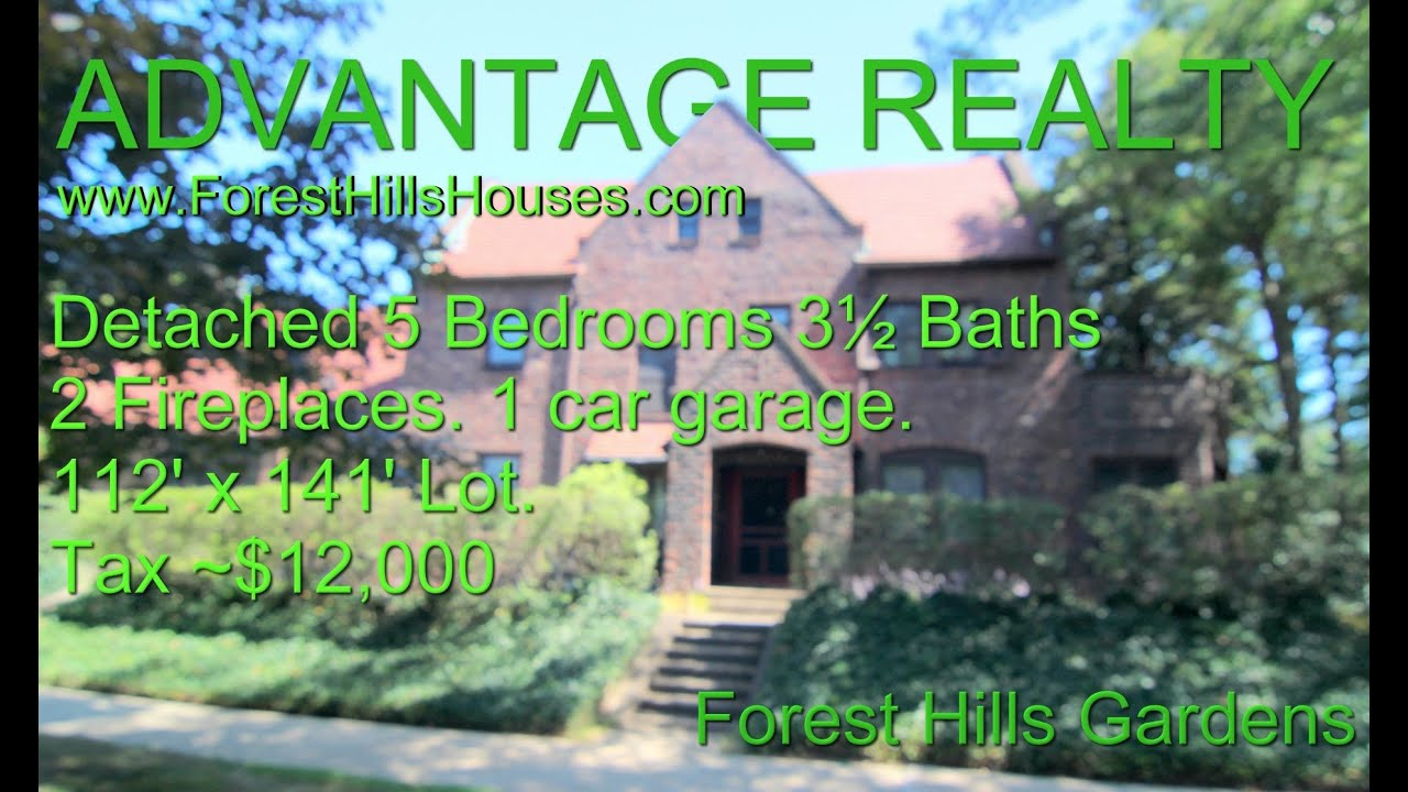 A 1 Family House In Forest Hills Gardens., New York, USA   YouTube