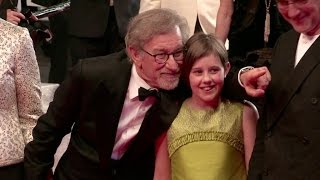 Director Steven Spielberg And The Cast Of The BFG Walk The Red Carpet During The Cannes Film Festiva