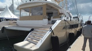 Privilege Serie 6 Catamaran walkthrough at La Grande Motte 2016