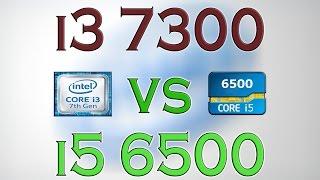 i3 7300 vs i5 6500 benchmarks gaming tests review and comparison kaby lake vs skylake