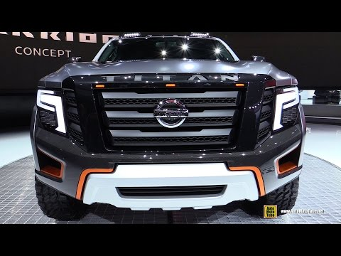 2017 Nissan Titan Warrior Concept - Exterior Interior Walkaround - Debut at 2016 Detroit Auto Show