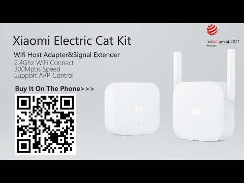 Xiaomi WiFi Electric Power Cat Adapter Extender Kit- Unbox