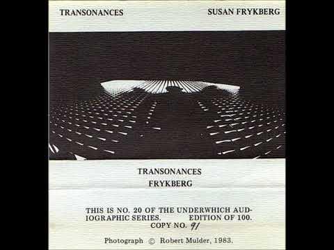 Susan Frykberg – Transonances (1984)