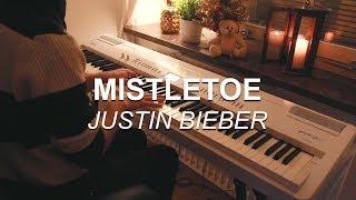 """Mistletoe (Justin Bieber)"", Piano Solo Cover by Joel Sandberg + Lyrics"