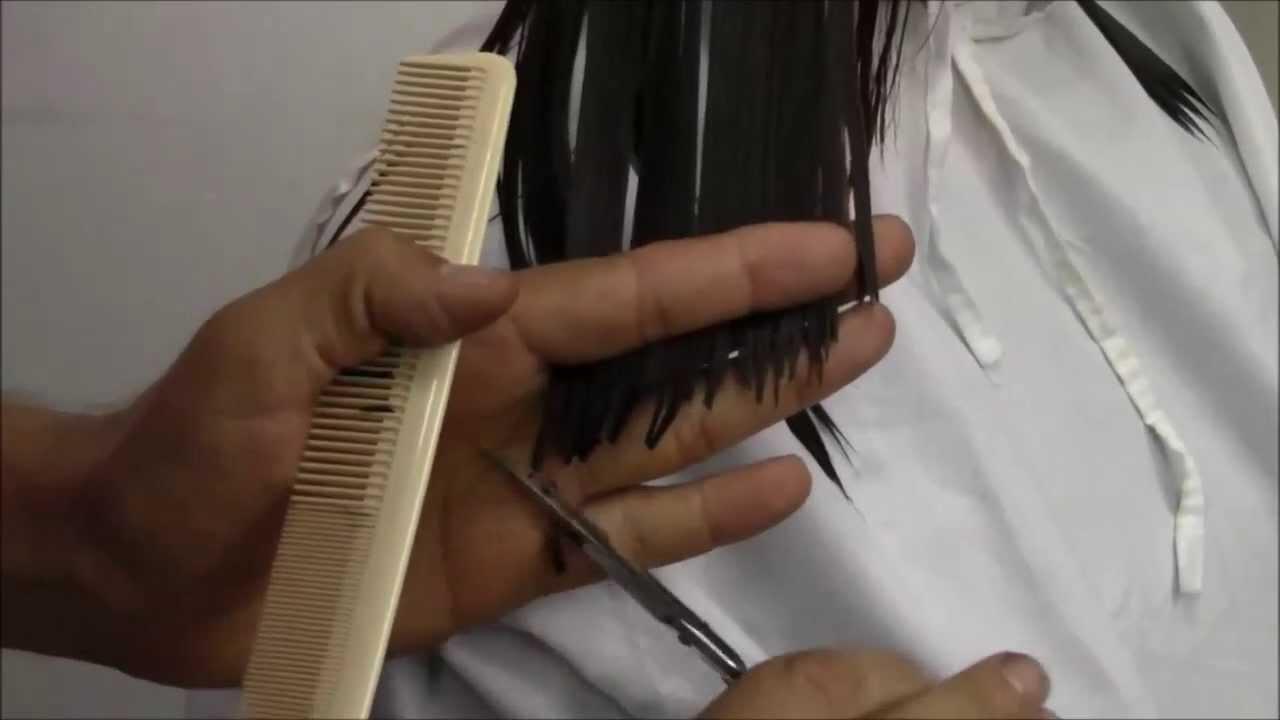 Video corte de pelo desmechado