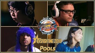 DBFZ World Tour: VsFighting 2018 (Pools) GO1, SonicFox, Dogura, Dekillsage
