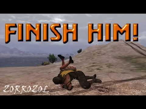 GTA V Mortal Kombat Edition - Scorpion Mod