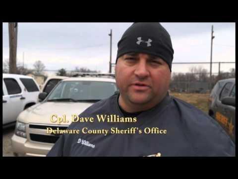 Delaware County Sheriff Show K-9 Training 2016
